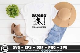 027 rugby is not just a sport its a way of life 3 2T Rugby Is Not Just A Sport It's A Way Of Life SVG