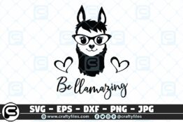 038 be llamazing 3 2D Craft Designs