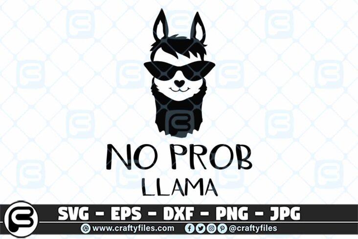 039 No Prob. Llama SVG Mama Llama SVG 3 2D No Prob. Llama, Mama Llama SVG
