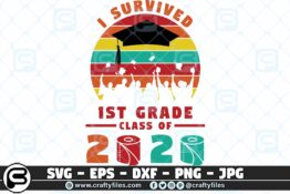 078 i survived the 1st grade class of 2020 3 2D Crafty Files | Home