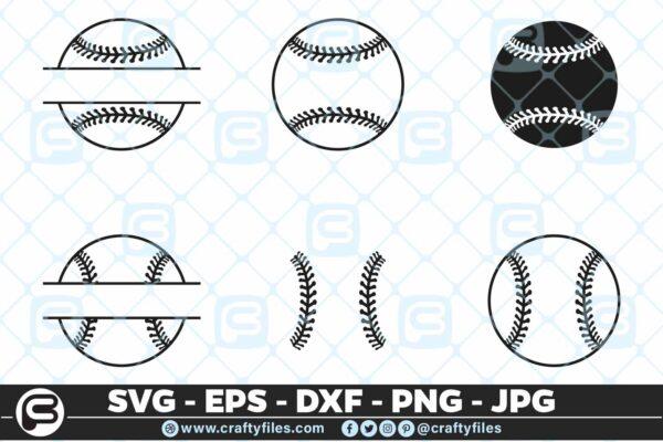 096 Base Ball bundle base ball cheap Base Ball Bundle Baseball SVG PNG Cutting Files