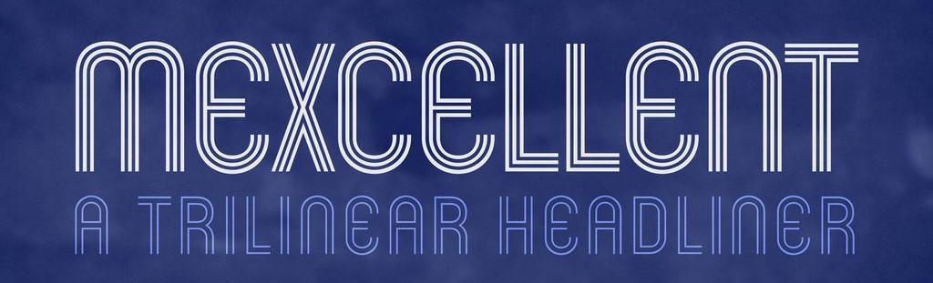 mexcellent font 15 big 10 Best Free Fonts For Designer You Should Download