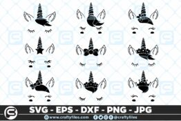 163 Unicorn Beautiful Face bundle Selection 01 5 4D Bundles