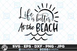 187 Life is better at the beach 5 4D Crafty Files | Home