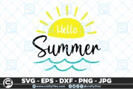 193 Hello summer sun 5 4D Crafty Files | Home