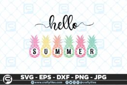 200 Hello summer pine apple 5 4D Crafty Files   Home