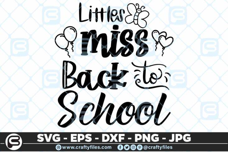 203 little miss back to school batterfly 5 4D Little Miss Back To School Butterfly SVG Back To School PNG EPS DXF