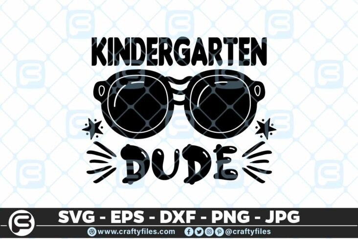 209 8 Back to school kindergarten Grade Sunglasses Dude 5 4D Back to school SVG kindergarten Dude SVG Sunglasses SVG First Day At School