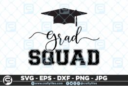 109 Graduation SQUAD 5 4D Craft Designs