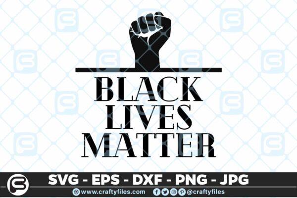 110 Black Lives Matter 5 4D Black Lives Matter PNG SVG Cutting File For Cricut & Silhouette