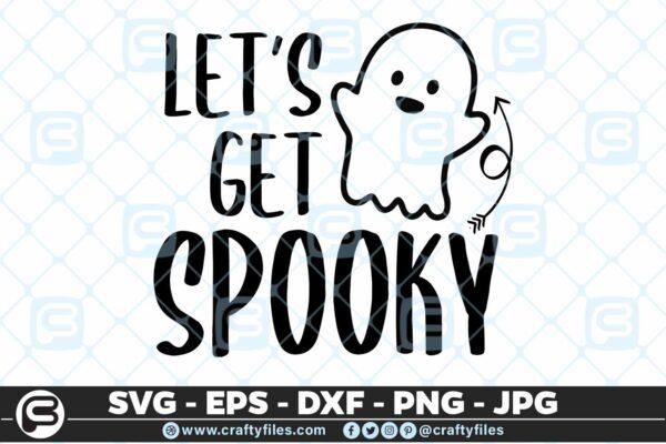 122 lets get spooky 5 4D Let's get spooky, Cutting file, SVG, PNG, EPS