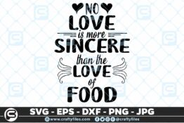 144 no love is more sincere than love of food 5 4D Crafty Files | Home