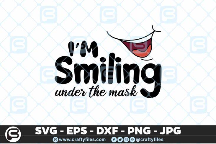 213 4 I am smiling under the mask 5 4D Mask Design SVG I Am Smiling Under The Mask PNG