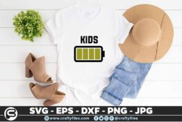 216 kids 5 4T Battery Power Family Matching t-Shirts SVG Mommy SVG Daddy SVG