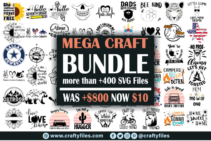 Thumbnail 2021 01 Mega Craft Bundle: Entire Shop SVG Bundle, All SVG Designs In Our Shop For Just 10.00$