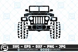 227 Jeep car outdoor 3 2D Craft Designs