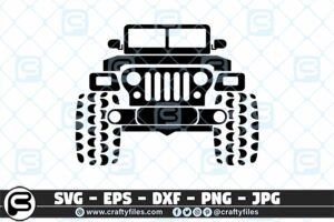 227 Jeep car outdoor 3 2D Home