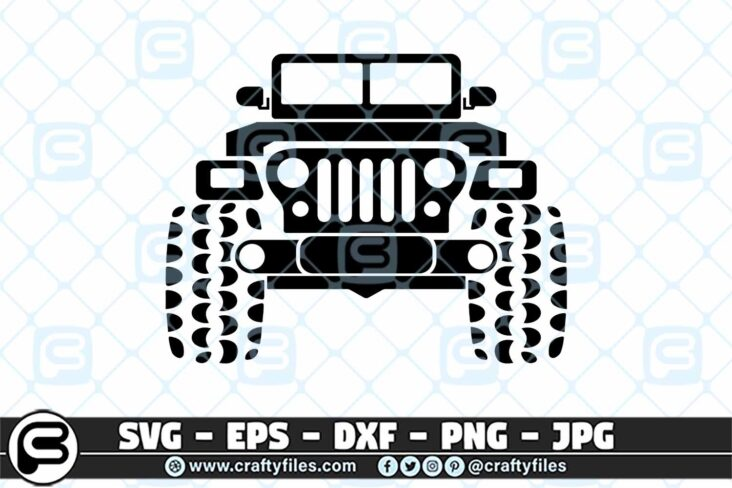 227 Jeep car outdoor 3 2D Jeep SVG Car SVG Outdoor SVG PNG Mountain SVG