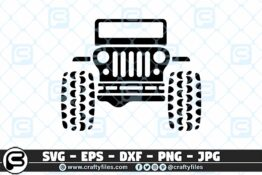 228 Jeep car outdoor 3 2D Craft Designs