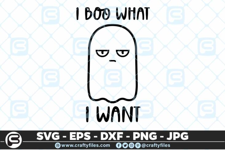 233 I boo what I want little sprit ghost 5 4D I boo what I want Cute Ghost SVG PNG Files