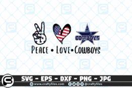 234 Peace Love Cowboys 3 2D Crafty Files   Home