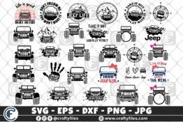 276 300 Jeep car Bundle Crafty Files | Home