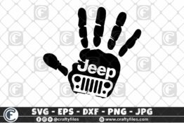 281 Jeep Car in Hand 3 2D Crafty Files | Home