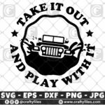 284 Jeep Car in water rounded take it out and play with it 3 2D Jeep Car SVG Dirty Jeep Car SVG Outdoor SVG PNG Mountain SVG DXF