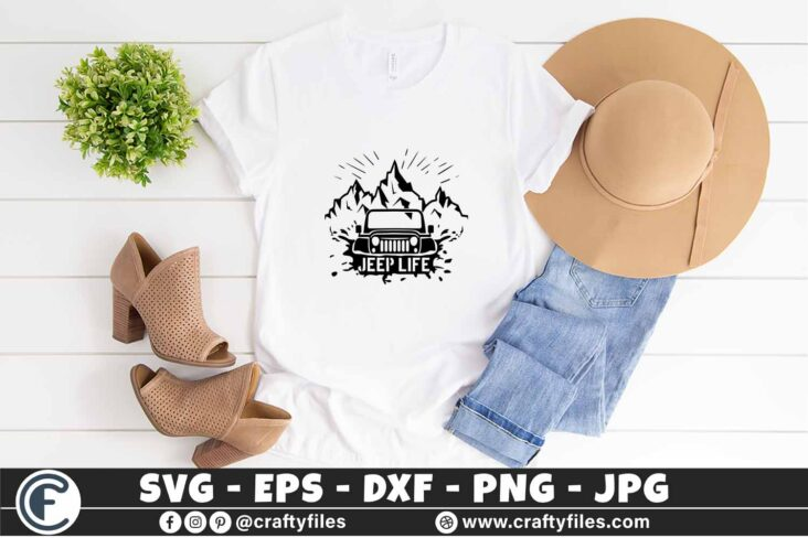 290 Mountains outdoor Jeep life 3 2T Jeep Car SVG Jeep Life SVG Outdoor SVG PNG Mountain SVG DXF