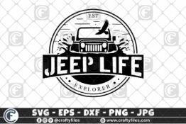 291 EST EXPLOLERER JEEP CAR EAGLE OUTDOOR 3 2D Crafty Files | Home