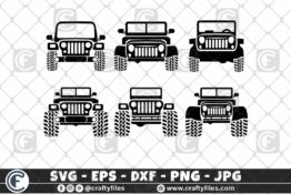 294 Bundle of jeep car 01 3 2D Crafty Files | Home