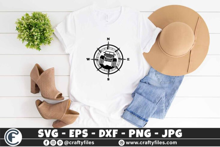 296 Compass Jeep Car outdoor 3 2T Jeep SVG Jeep Life SVG Jeep Car SVG Outdoor SVG Compass SVG
