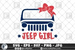 297 Colorful Jeep Car jeep Girl 3 2D Crafty Files | Home