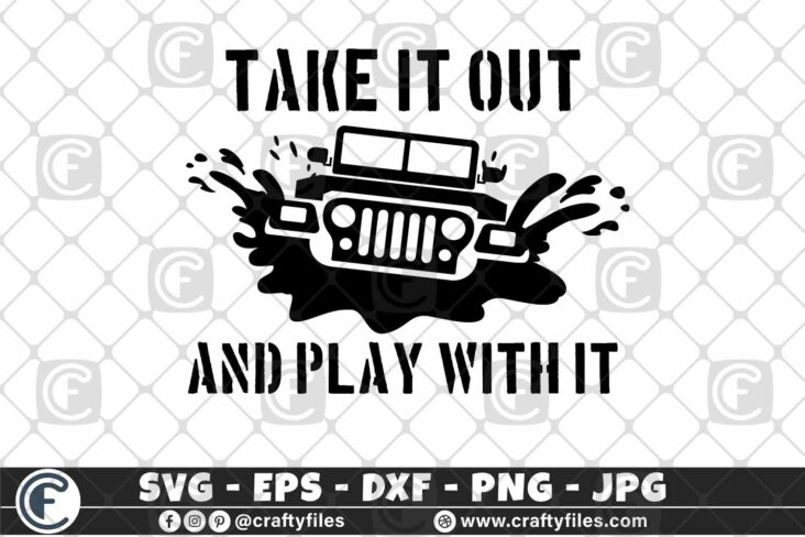 383 Jeep Car in water take it out and play with it 3 2D Jeep Car SVG Dirty Jeep Car SVG Outdoor SVG PNG Mountain SVG DXF