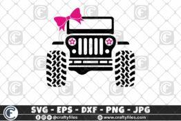 PNG 01 011 3 2D Bundle of Jeep SVG For Girls SVG Jeep Car SVG Outdoor SVG PNG Mountain