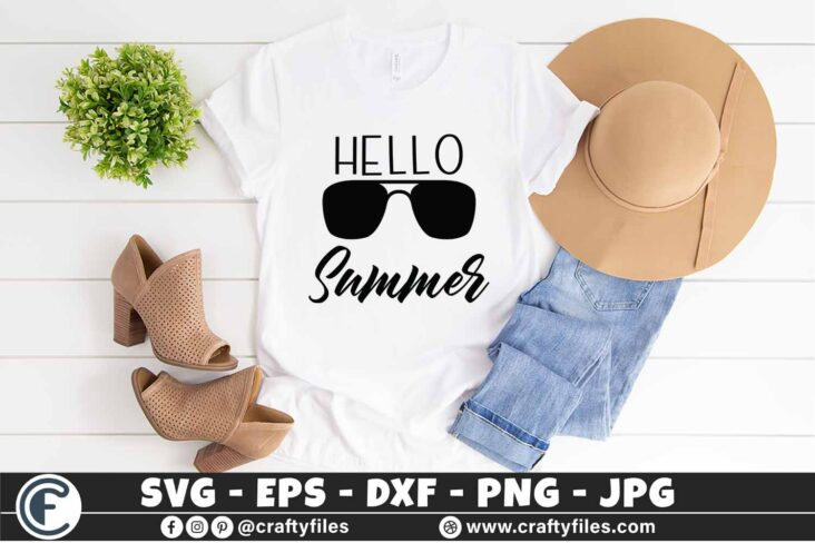 312 Hello summer sun glasses beaching time 3 2T Hello Summer SVG Beach time EPS PNG Beaching time SVG Sun Glasses SVG