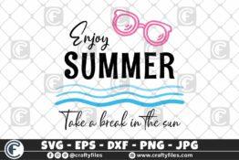 313 Hello summer sun glasses beaching time Enjoy summer take a break under the sun 3 2D Crafty Files | Home