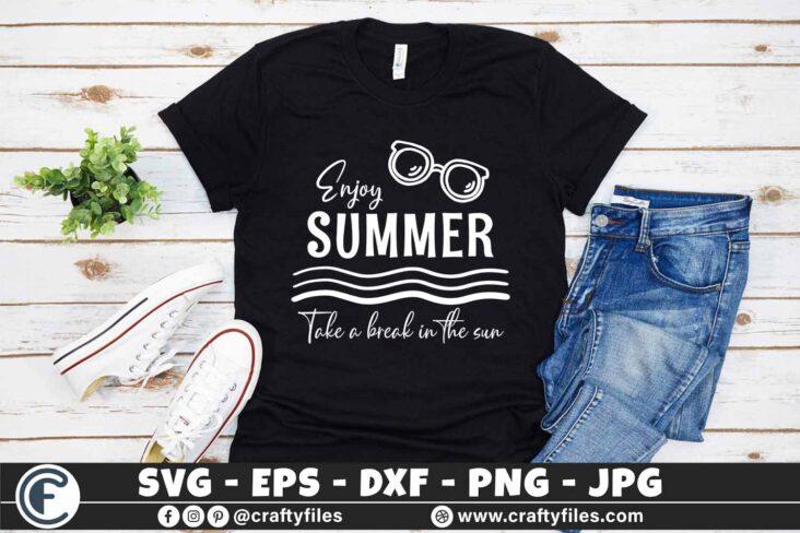 313 Hello summer sun glasses beaching time Enjoy summer take a break under the sun 3 2TW Hello Summer SVG Enjoy Summer SVG, Take a Break in The Sun SVG Sun Glasses SVG Beaching time SVG
