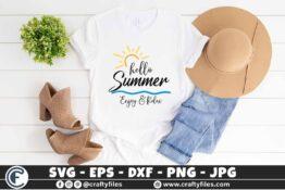 316 Hello summer sun glasses beaching time Enjoy and relax 3 2T Hello Summer SVG Enjoy And Relax SVG EPS PNG Beaching time SVG Beach time EPS