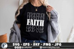 330 Hope Faith Love 3 2 T B F Classy at the Core SVG Hood around the edge SVG Classy Girl svg Cut File for cricut and silhouette