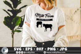 332 Milk Farm natural product cows 3 2 T N F Farm Fresh Milk svg, Farm Fresh svg, Rustic Farmhouse Sign svg, Distressed Farmhouse Decor svg, Fresh Milk and Butter svg,