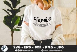 350 Farm sweet farm banner door sticker farming 3 2 T N F Farm Sweet Farm SVG, Farmhouse, Farm, Country, Quote, Welcome Sign, Home Decor, Kitchen, Barn, Chicken SVG,